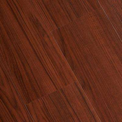 Embossed Bamboo Cherry 6 mm x 7-1/16 in. Width x 48 in. Length Vinyl Plank Flooring (23.64 sq./case)