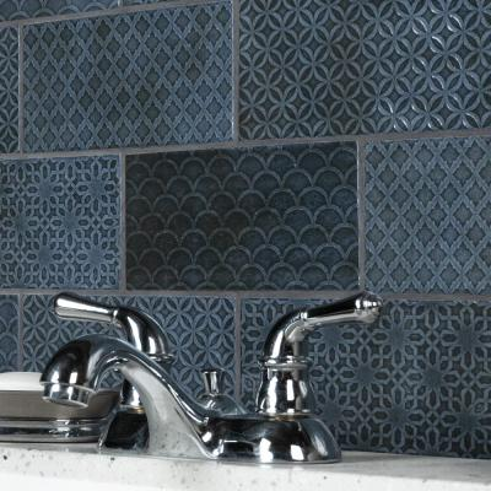 Camden Decor Azurro 4 in. x 8 in. Ceramic Wall Tile (11.9 sq. ft./Case)