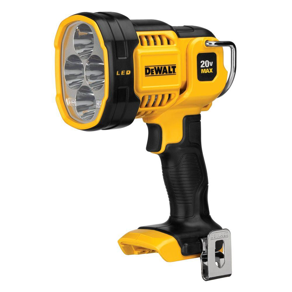 20-Volt MAX Lithium-Ion Cordless Jobsite Spotlight (Tool-Only)