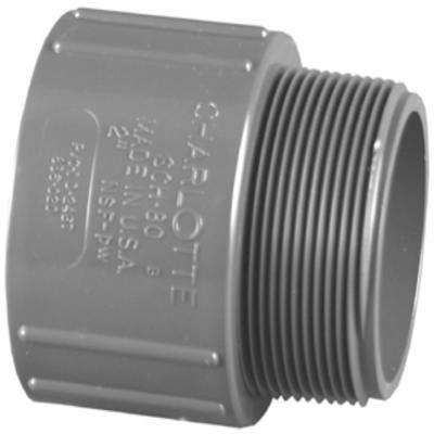 1-1/4 in. Schedule 80 Male Adapter