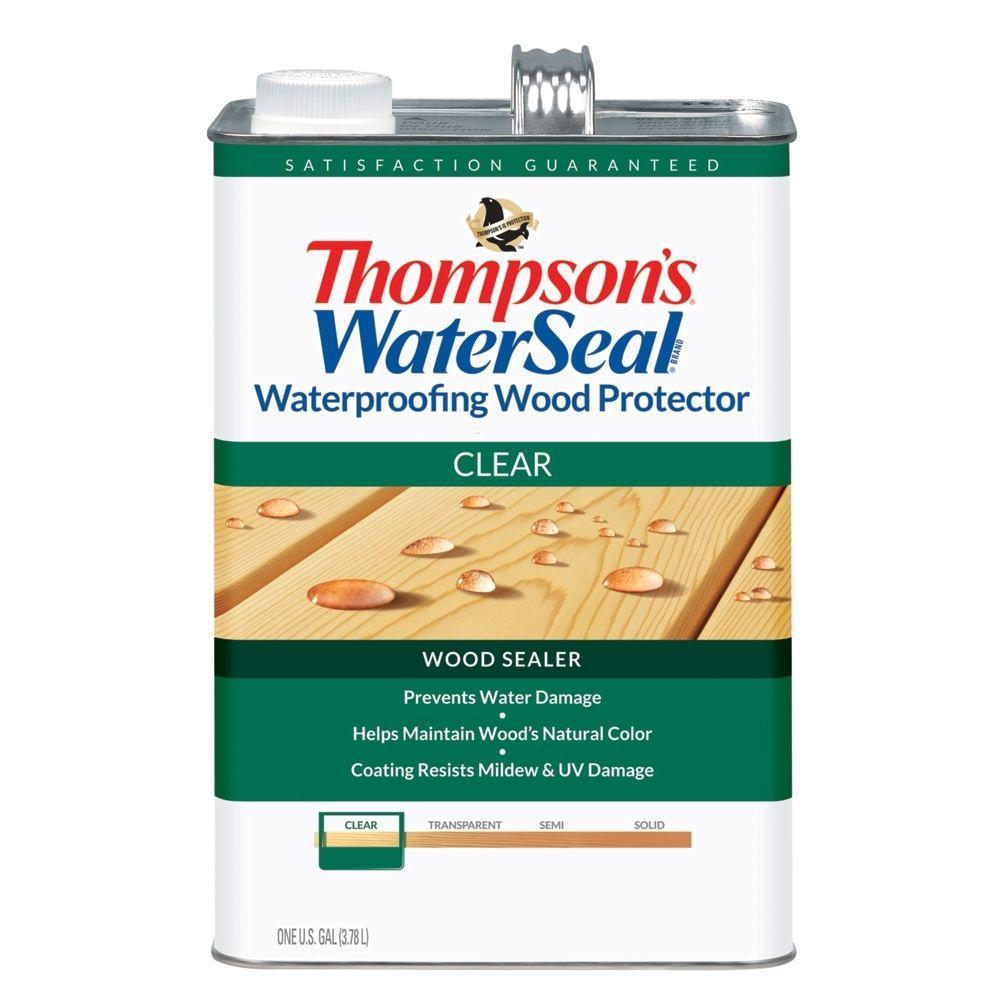 Thompson's WaterSeal 1 gal. Clear Waterproofing Wood Protector
