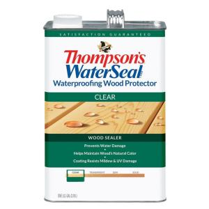 1 gal. Clear Waterproofing Wood Protector