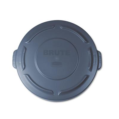 Brute 20 Gal. Gray Round Trash Can Lid