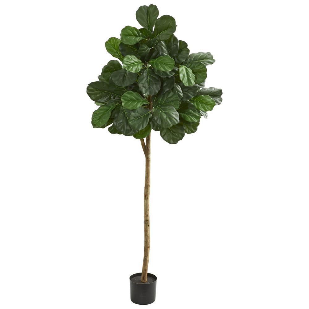 Indoor 6 in. Fiddle leaf fig Artificial Tree