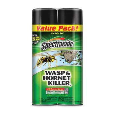 Aerosol Wasp and Hornet Killer Spray Twin Pack