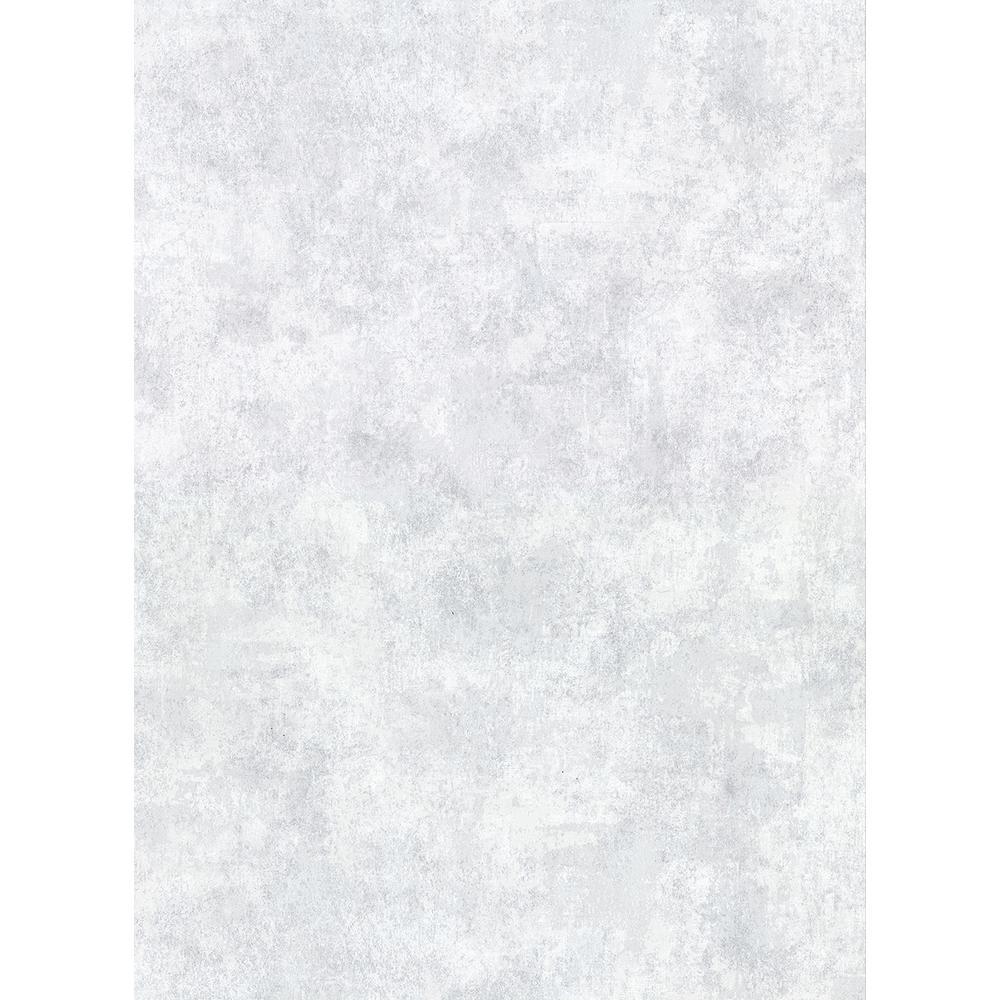 8 in. x 10 in. Hereford Sky Blue Faux Plaster Wallpaper Sample