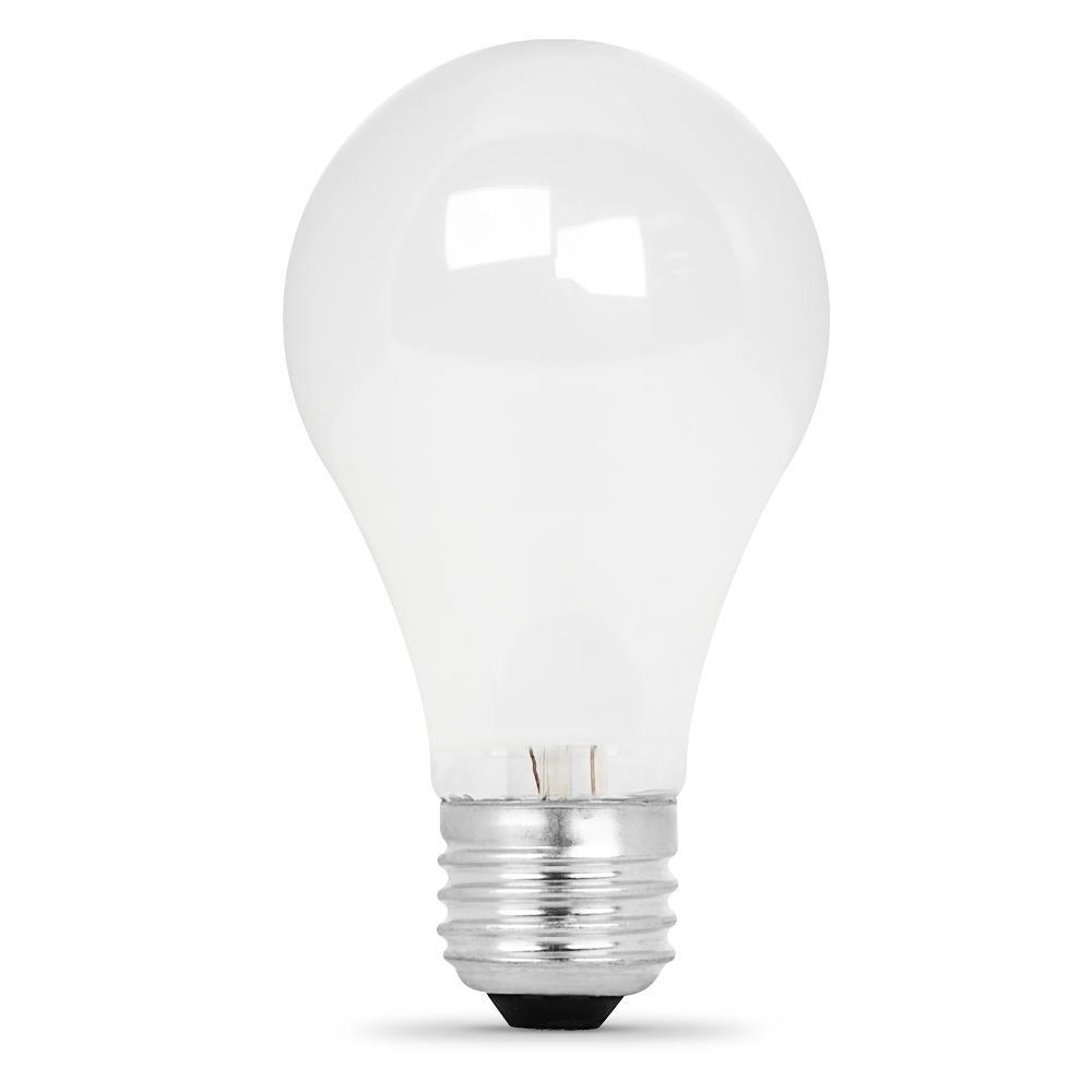 20w Led Bulb A19: Feit Electric 60-Watt Warm White (3000K) A19 Dimmable