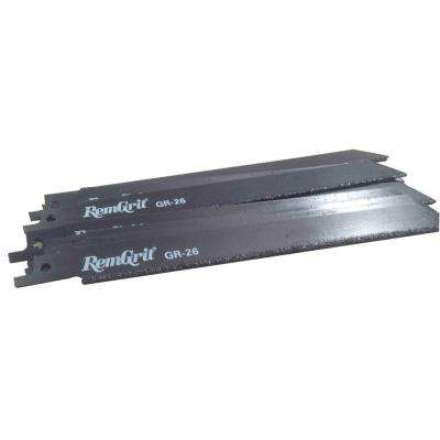8 in. x 3/4 in. x 0.042 in. Carbide Grit Reciprocating Saw Blade (10-Pack)