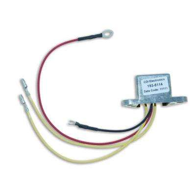 Johnson/Evinrude Regulated Rectifier 2 Cyl (1993-2000)