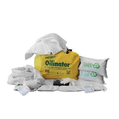 20 Gal. Heavy Duty Oil Absorbent Spill Kit