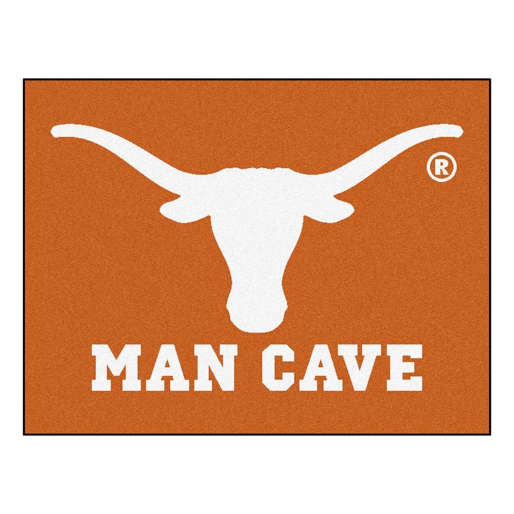 Man Cave Store Brenham Tx : Fanmats university of texas orange man cave ft in