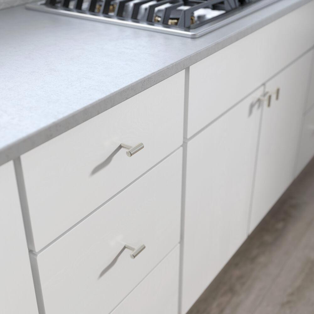 1-9/16 in. (40 mm) Brushed Steel Bar Cabinet Knob