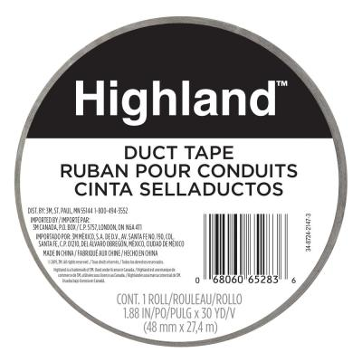Highland 1.88 in. x 30 yds. (48 mm x 27.43 m) Duct Tape