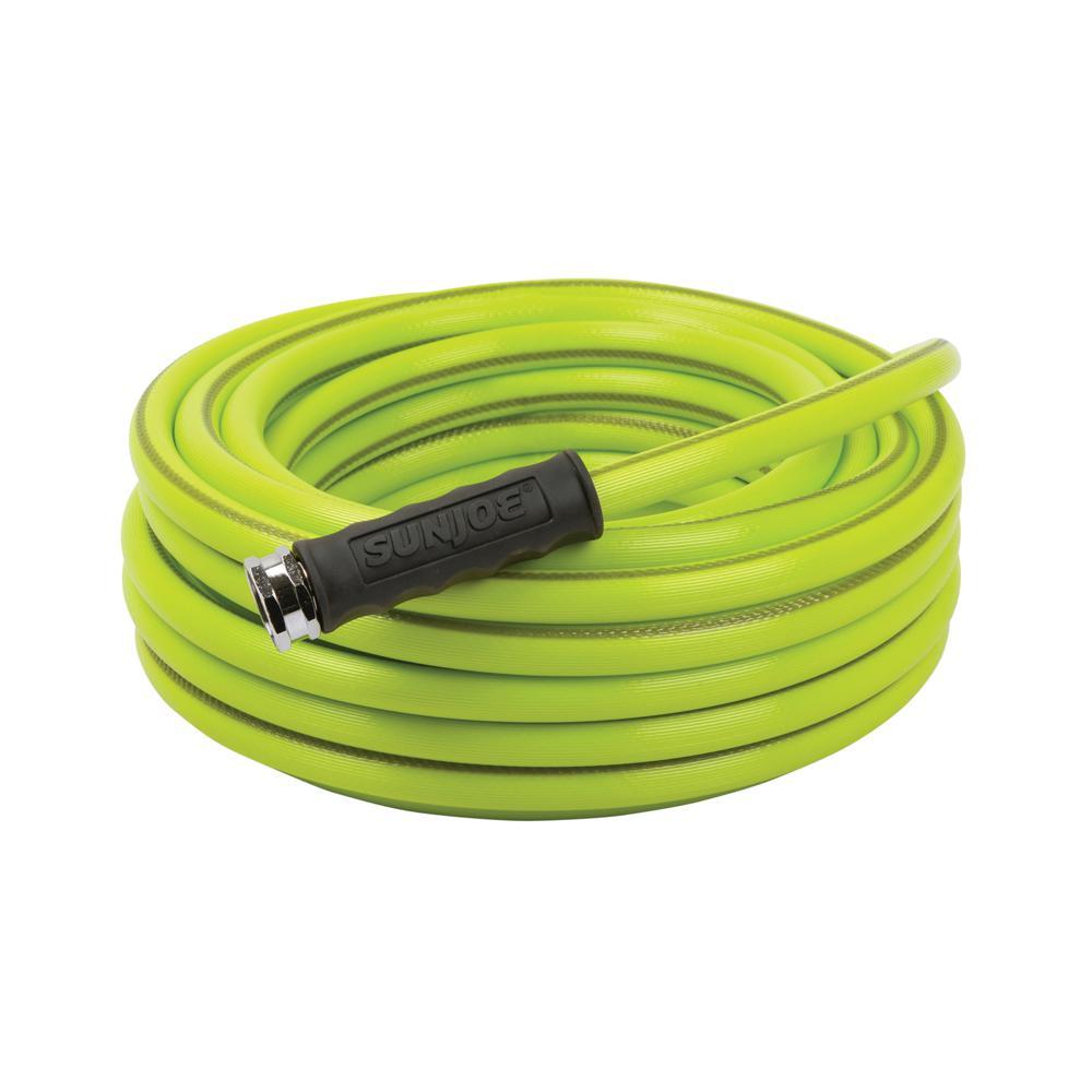 Aqua Joe 5/8 in. Dia. x 50 ft. Heavy Duty, Kink-resistant, Lightweight Garden Hose, Lead-free, BPA-free