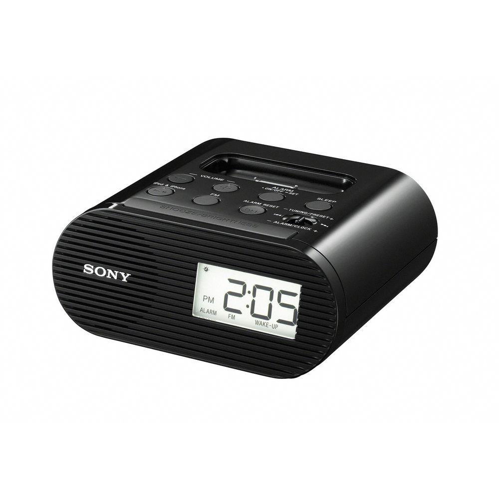 SONY Alarm Clock FM Radio with iPod/iPhone Dock-DISCONTINUED