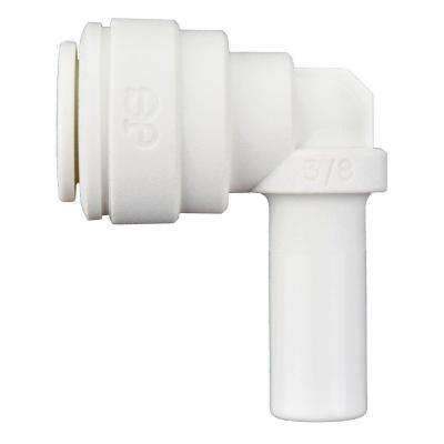 3/8 in. x 3/8 in. Polypropylene 90-Degree Push-to-Connect Plug-In Elbow (10-Pack)