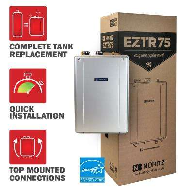 Tank Replacement Natural Gas Hi Efficiency Indoor Tankless Water Heater With
