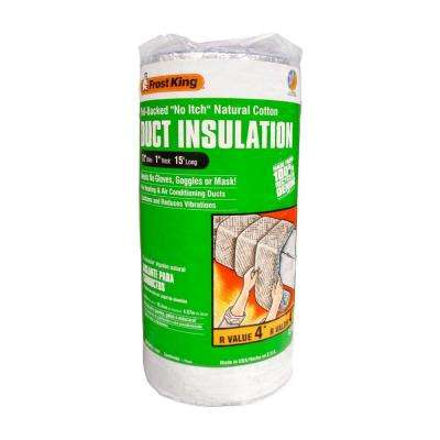 12 in. x 15 ft. No Itch Duct Wrap Insulation R4