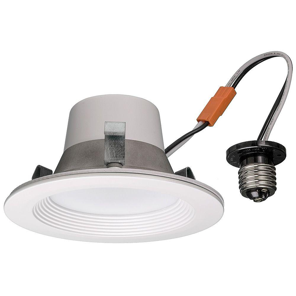 4 in. White 65-Watt Equivalent Integrated LED Smart Color Tunable 2700K-5000K