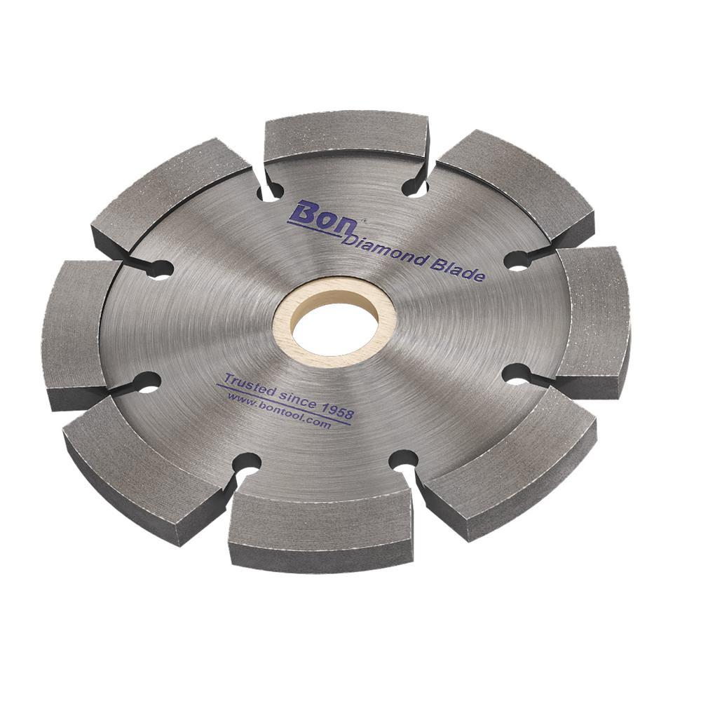 4 in. x 0.25 in. Laser Welded Diamond Blade