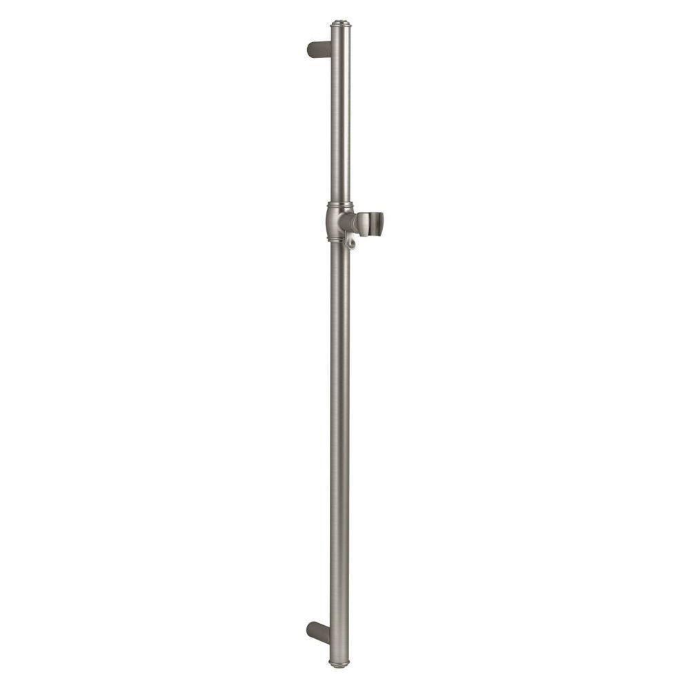 KOHLER Artifacts 30 in. Shower Slide Bar in Vibrant Brushed Nickel
