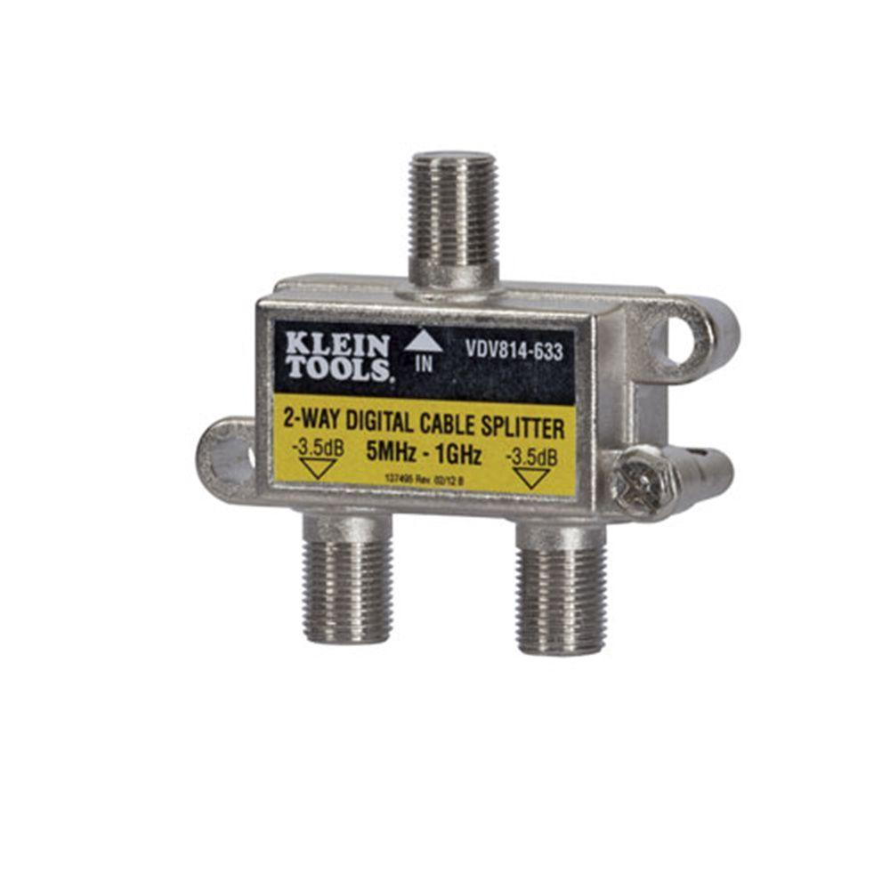 Klein Tools 5 MHz - 1 GHz 2 - Way Digital Splitter