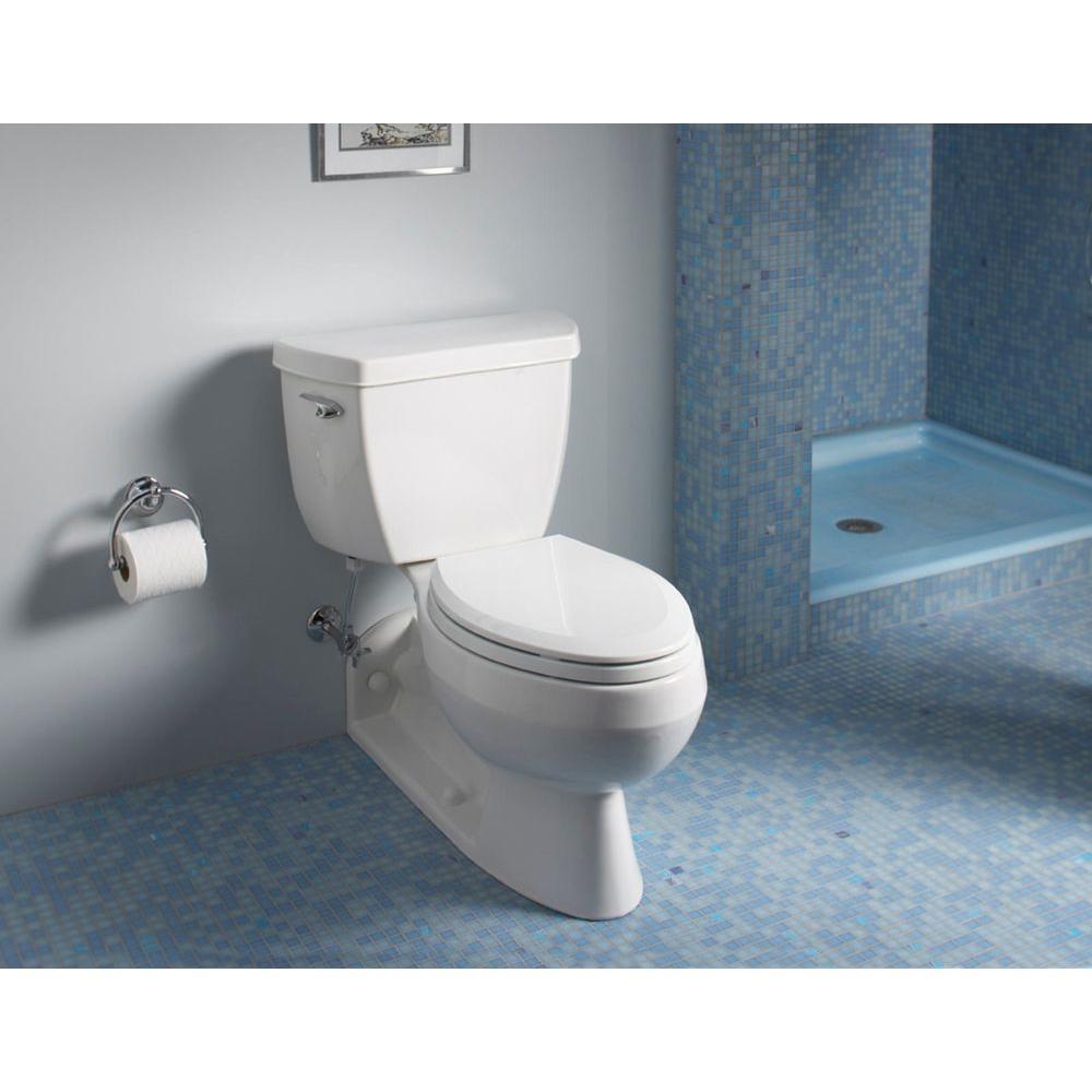 Kohler Barrington Elongated Toilet Bowl Only In White K 4327 0 The Home Depot