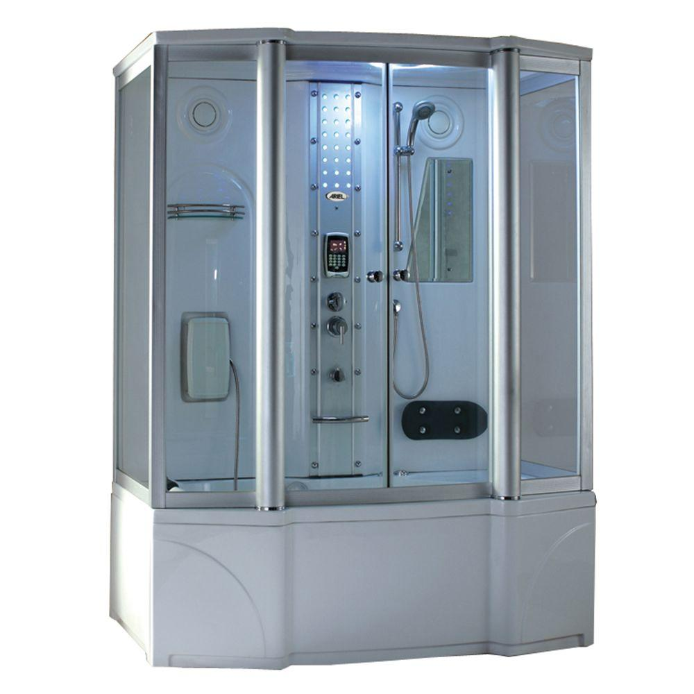 67 in. x 35 in. x 86 in. Steam Shower Enclosure