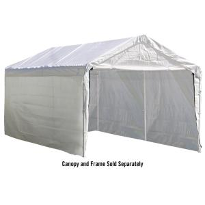 ShelterLogic Enclosure Kit for Super Max 12 ft. x 20 ft. White Canopy (Canopy and Frame... by ShelterLogic