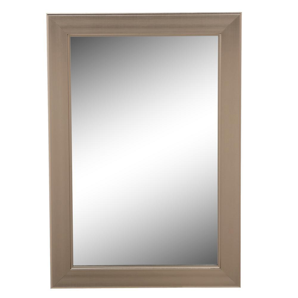 Home Decorators Collection 24 in. W x 35 in. L Framed Fog Free Wall ...