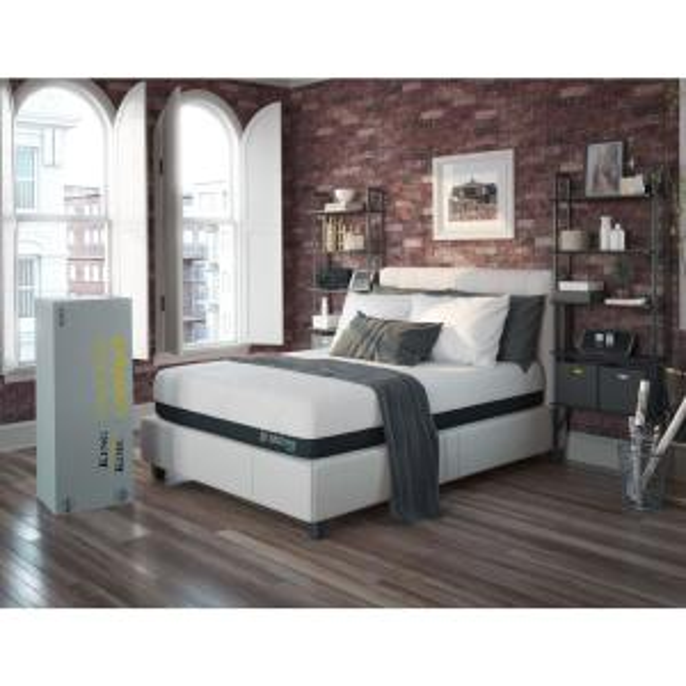 King Koil Express Comfort Hybrid Firm Queen Size 11 inch Gel Memory Foam Mattress by King Koil