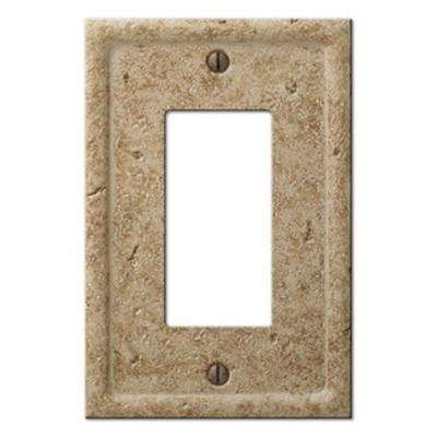 Texture Stone 1 Decora Wall Plate - Light Noche