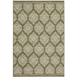 Home Decorators Collection Taurus Grey Cream 8 ft x 10 ft Area