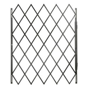 Grisham 48 In X 79 In Black Expandable Security Gate