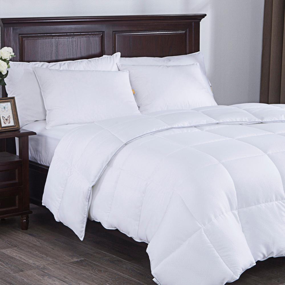 Down Alternative Comforter Duvet Insert White King Size