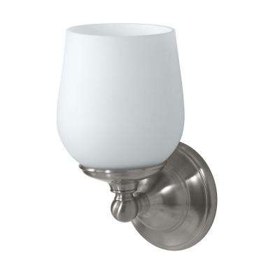 Oldenburg 1-Light Satin Nickel Sconce
