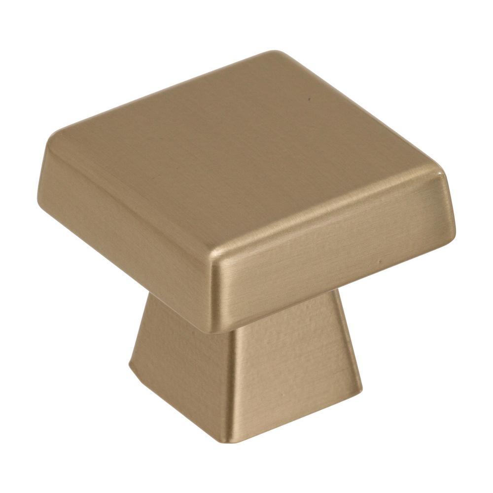 Blackrock 1-1/2 in (38 mm) Length Golden Champagne Cabinet Knob