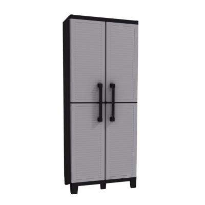 Space Winner 67.32 in. H x 26.77 in. W x 14.96 in. D Resin Tall Cabinet