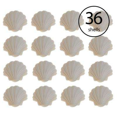 Swimming Pool Safety Cover Plug Shell Deck Decor in Beige (36-Pack)