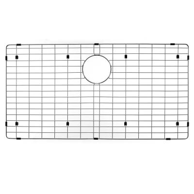 Wirecraft 17.25 in. x 33.25 in. Bottom Grid for Kitchen Sinks in Stainless Steel
