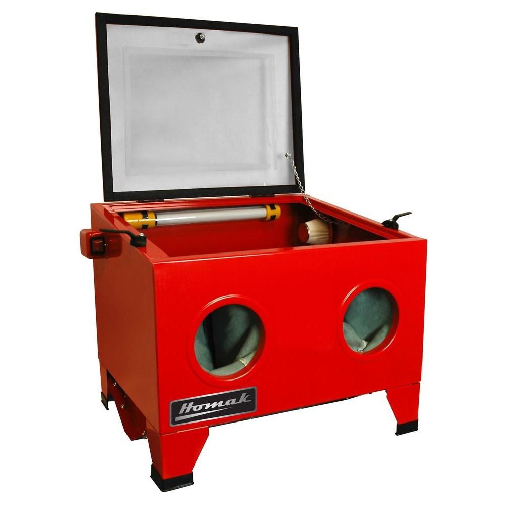 Homak Table Top Abrasive Blast Cabinet-RD00920250 - The Home Depot