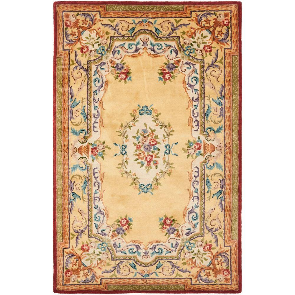 Safavieh Empire Gold 6 ft. x 9 ft. Area Rug