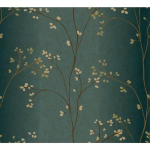 York Wallcoverings Vertical Blossoms Wallpaper by York Wallcoverings