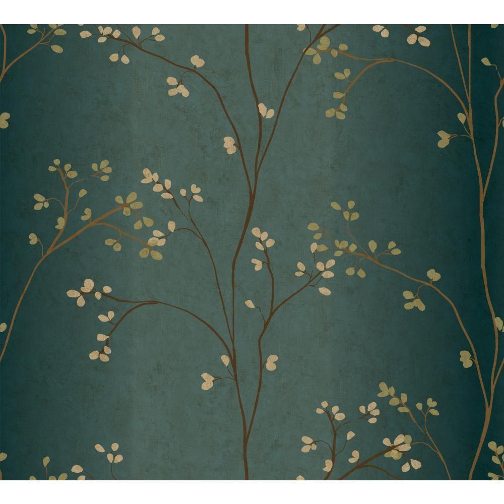 Vertical Blossoms Wallpaper