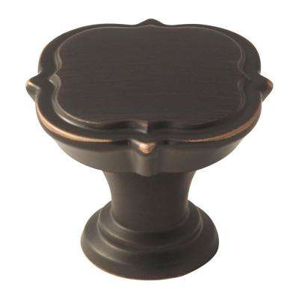 Grace Revitalize 1-3/8 in. (35 mm) Oil-Rubbed Bronze Cabinet Knob