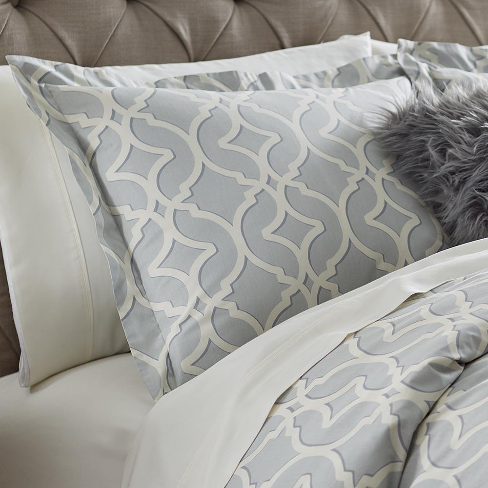 Home Decorators Collection Nuri Pewter King Pillow Sham