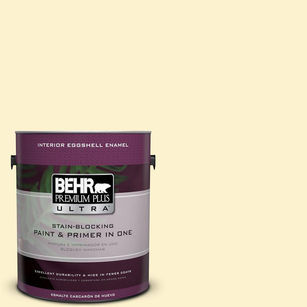 BEHR Premium Plus Ultra 1-gal. #380C-2 Desert Lily Eggshell Enamel Interior Paint