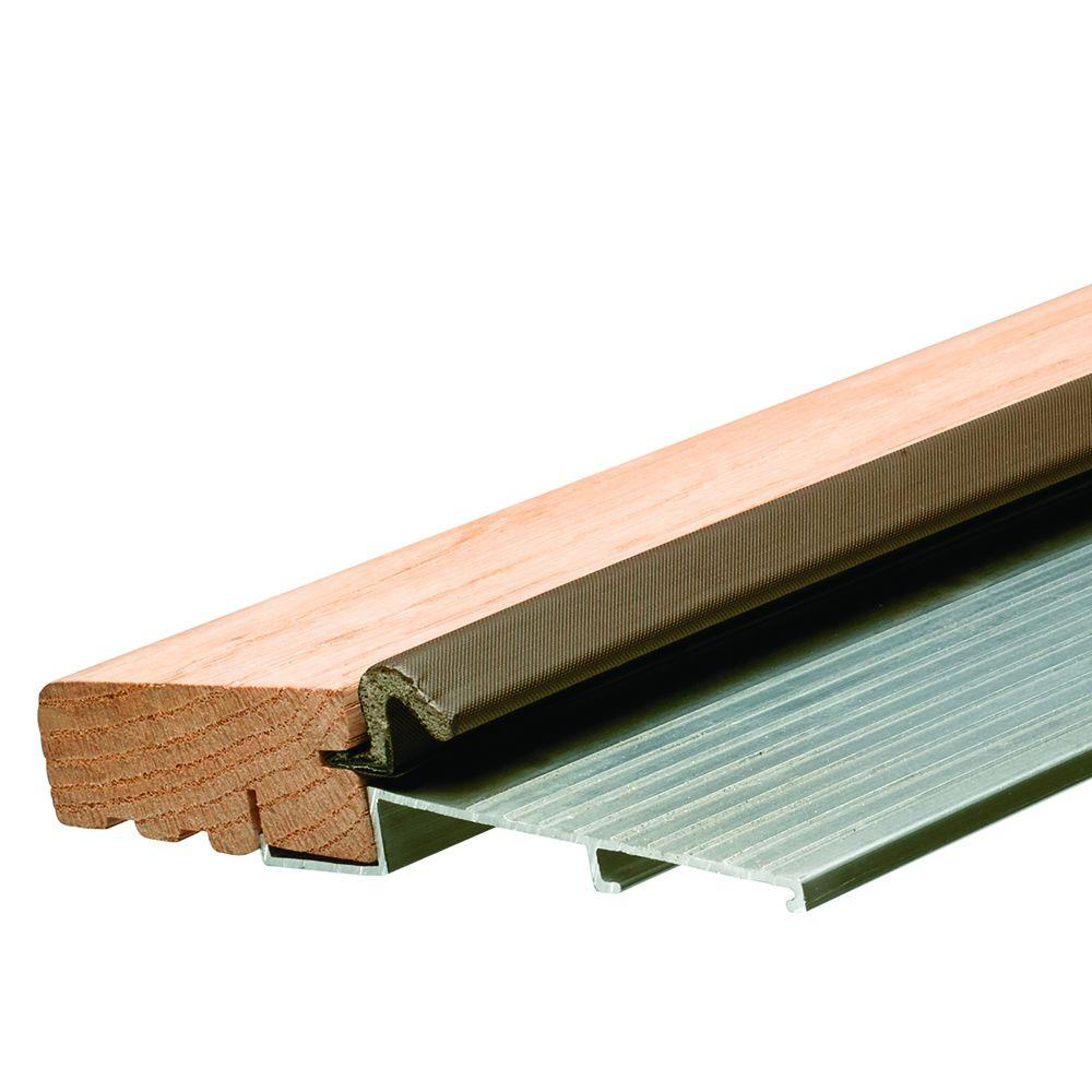 Frost king e o 5 5 in x 36 in fixed sill bumper for Home depot door threshold