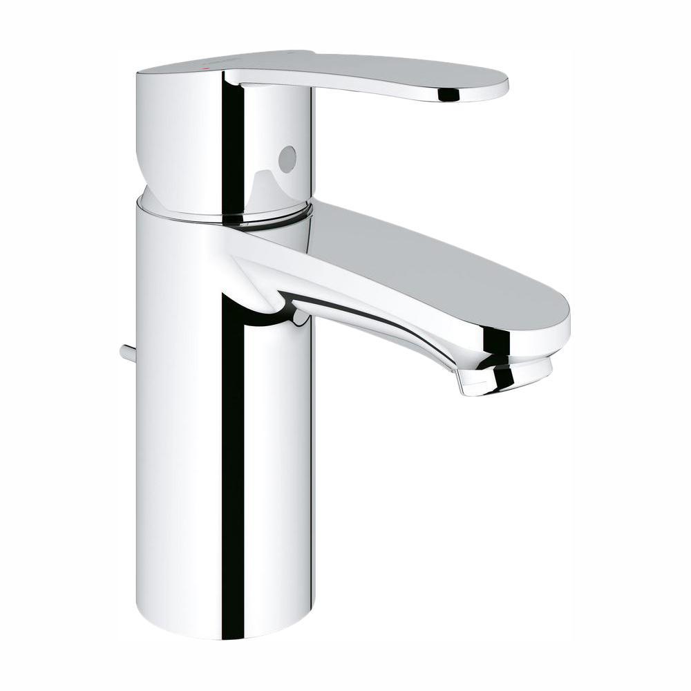 Eurostyle Cosmopolitan Single Hole Single-Handle Bathroom Faucet in StarLight Chrome