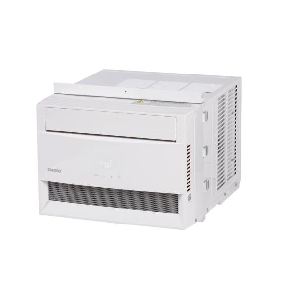 8000 BTU Window Air Conditioner with Wi-Fi and Remote in White